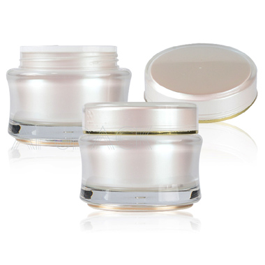 Double Wall Round Face Cream Jars