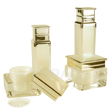 Square Acrylic Cosmetic Container Series
